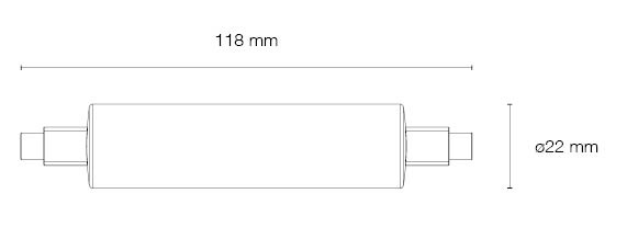 LINEAL-LED-10W-3000K-4500K-190025-190032